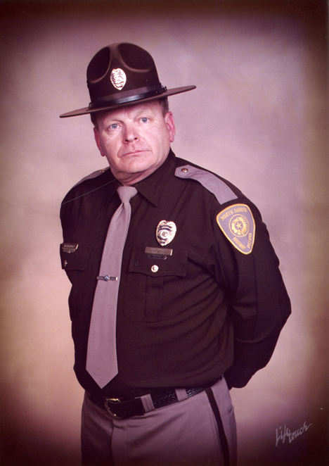 State Trooper Wes Meidinger in Uniform