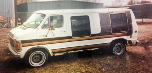 Robert Anderson's Dodge van was found in Aberdeen near the train depot.