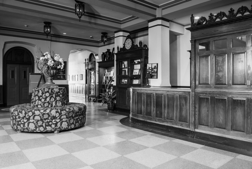 The Lobby of the Ward Hotel, Aberdeen South Dakota