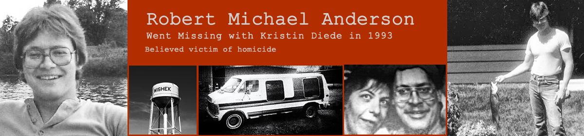 Kristin Joy Diede and Robert Michael Anderson